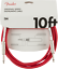 Genuine-Fender-Original-Series-Instrument-Guitar-Cable-FIESTA-RED-10-039-ft thumbnail 1