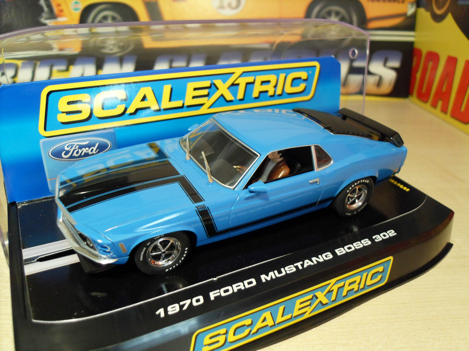 Scalextric C2976 Ford Mustang Boss 302 - Brand New in Box