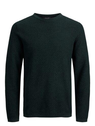 Jack /& Jones Premium Mens Sweater Slim Fit Knitted Cotton Sweatshirt JPRThomas