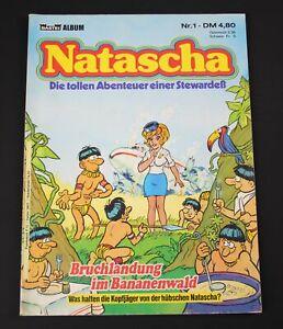 Natascha / Die tollen Abenteuer einer Stewardeß / Nr. 1 / Comic /