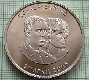 ASCENSION-ISLAND-2005-50-PENCE-Wedding-of-Prince-Charles-amp-Camilla-BU