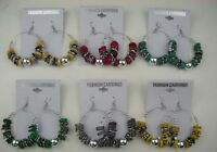 Wholesale Jewelry Lot 6 Pairs Drop Style Colorful Dangle Fashion Earring 003