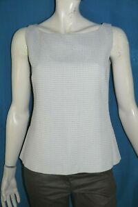 MAX-MARA-Taille-44-Superbe-haut-double-gris-debardeur-habille-femme