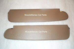 1961-Chrysler-Newport-Convertible-SUNVISORS-Bison-Material-Colors-Available-61