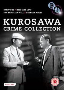 Kurosawa-Crime-Collection-4-Films-DVD-NEW-dvd-BFIVD934