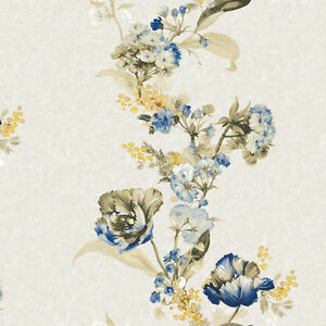 Contact Paper Floral Shabby Chic Self Adhesive Wallpaper