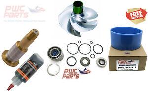 SeaDoo Jet Pump Rebuild Kit Wear Ring Impeller Shaft 2004-2009 215 SRX-CD-14/19