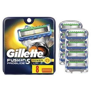 Gillette-Fusion5-ProGlide-Men-039-s-Razor-Blades-8-Blade-Refills