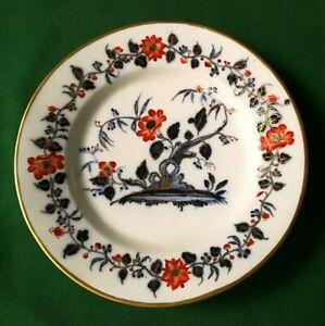 Assiette-en-porcelaine-de-Bayeux-XIX-eme-siecle-Periode-Langlois