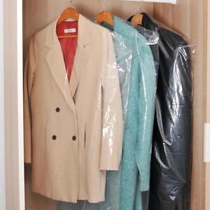 20pcs-60-90cm-Plastic-Transparent-Dust-Cover-Garment-of-Clothes-Hanging-Pocket