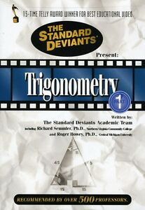 Standard-Deviants-Trigonometry-Vol-1-2008-DVD-New