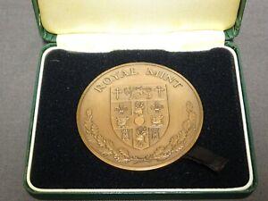 Large-Cased-Royal-Mint-Bronze-Medal-Queens-Award-For-Export-1987