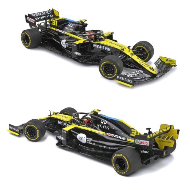 1/18 Solido F1 Renault R.S 20 British Grand Prix 2020 E.Occon Livraison domicile