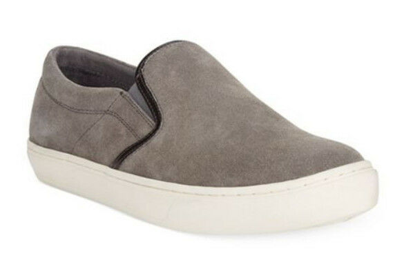 Alfani Men's Slater Suede Slip-On Casual Sneaker shoes Grey