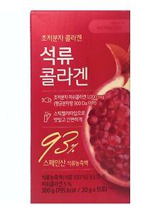 2BOX_600G(20Gx30STICKS) POMEGRANATE (93%)+SMALL MOLECULE COLLAGEN _ KOREA