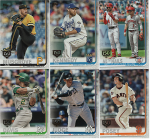 2019-Topps-Series-1-Baseball-150th-Anniversary-Gold-Stamp-Choose-039-s-1-350