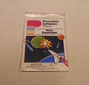 VERY-RARE-Warp-Destroyer-for-Apple-II-Plus-Apple-IIe-Apple-IIc-Apple-IIGS-NEW