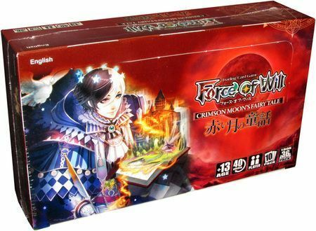 Force of Will Trading Card Game  The Crimson Moon's Fairy Tale Booster Box FOW BRAND NEW