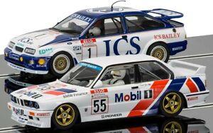 Scalextric-C3693A-Ford-Sierra-RS500-y-BMW-E30-Touring-Edicion-Limitada-coches