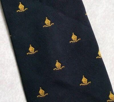 Apprensivo Vintage Cravatta Da Uomo Cravatta Crested Club Associazione Società- Piacevole Al Palato