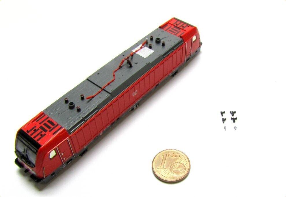 RICAMBIO-lokgehäuse O. Panto. ad esempio per Fleischmann DB AG e-Lok BR 147 Spur N-NUOVO
