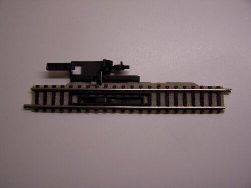 Entkupplungsgleis 111mm hellgrau Fleischmann Spur N 9114 man