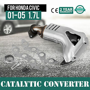 Image Is Loading Manifold Catalytic Converter New Civic For Honda