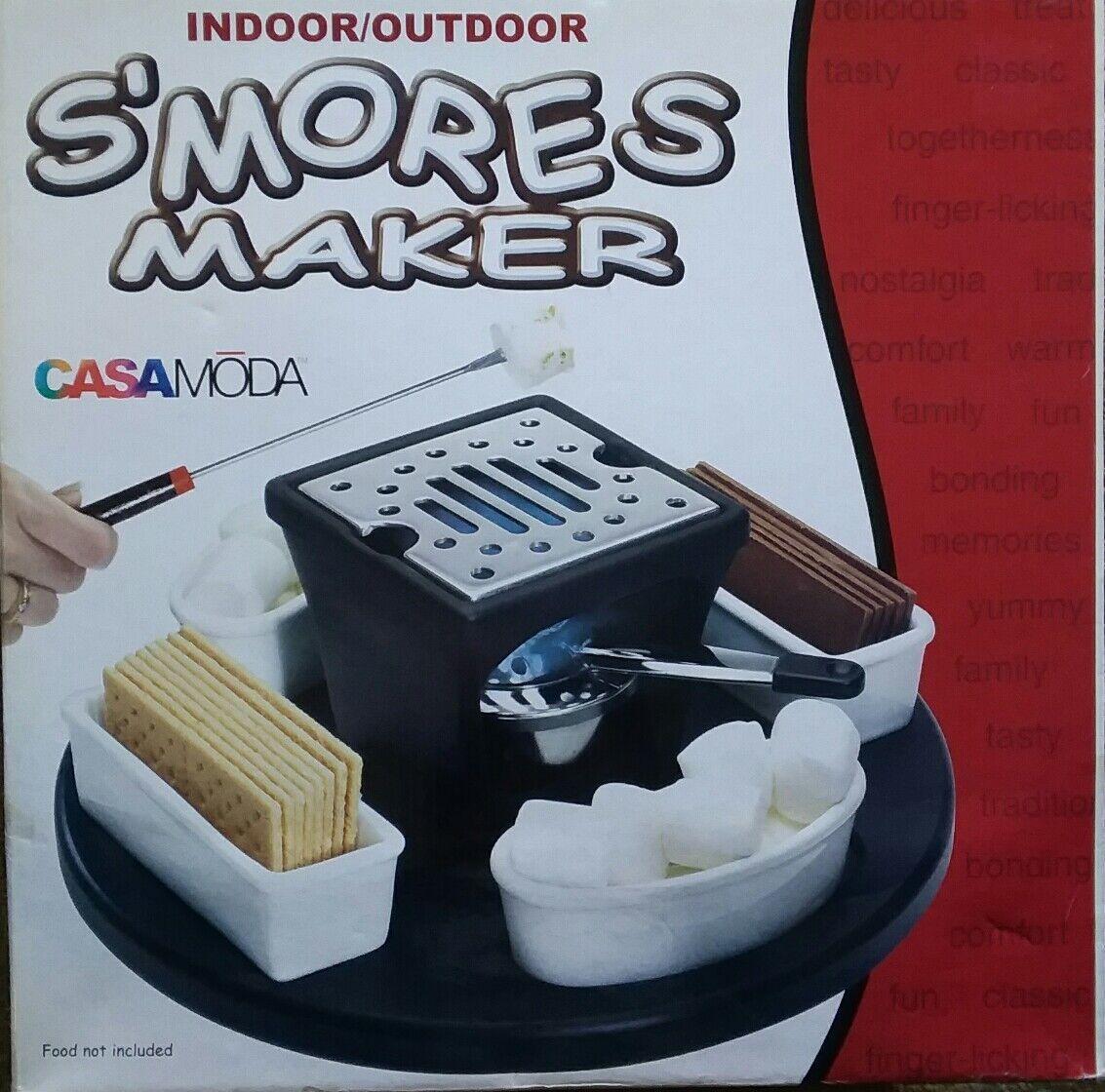 Nouveau CASAMODA Indoor Outdoor Guimauve Maker No CM10403 non-élu de .4 fourchettes, Manuel