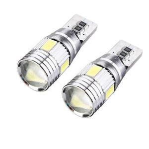 2-Bombillas-T10-LED-Canbus-chip-5630-5W5-carcasa-de-aluminio