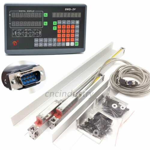 TTL Linear Glass Scale Digital Readout Mounting Bracket for Milling Lathe CNC