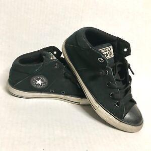 49d0de3b81c Converse Boys Shoes Chuck Taylor All-Star Black Slip-on Junior Youth ...