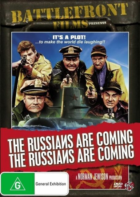 The Russians Are Coming Russians Are Coming**R4vgc Cond*Alan Arkin**RARE**