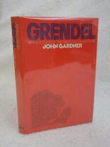 John-Gardner-GRENDEL-1984-Alfred-A-Knopf-NY-Later-Printing-HC-DJ