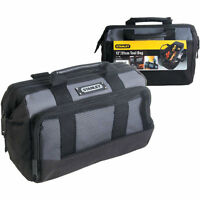 "Stanley 12"" Small Toolbag Power Hand Tool Bag Case Electrician 8 Pocket 1-93-330"