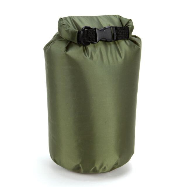ARMY GREEN 4L DRY SACK WATERPROOF BAG FOLD BAG CANOE KAYAK SWIM SAIL RAFT BOAT