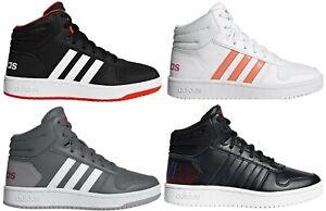 Details zu ADIDAS HOOPS MID 2.0 K B75743, EE6708, EE6709, EE8547 Neu JuniorDamen Sneaker