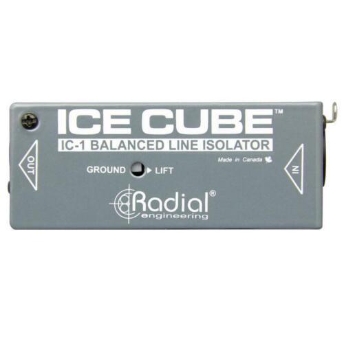 Radial Engineering IceCube™ IC-1 Balanced Line Isolator and Hum Eliminator NEW