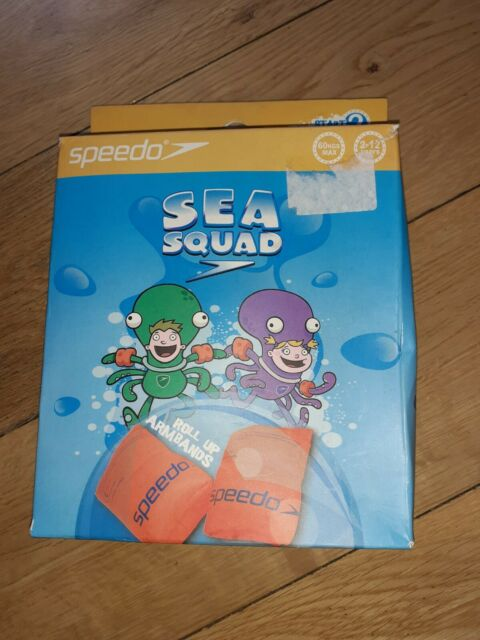 Speedo Kids Sea Squad Inflatable Safety Swimming Arm Bands Size 2-12 Years for sale online