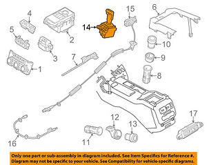 details about land rover oem 14 17 range rover sport transmission gear shift shifter lr096395  land rover transmission diagrams #12