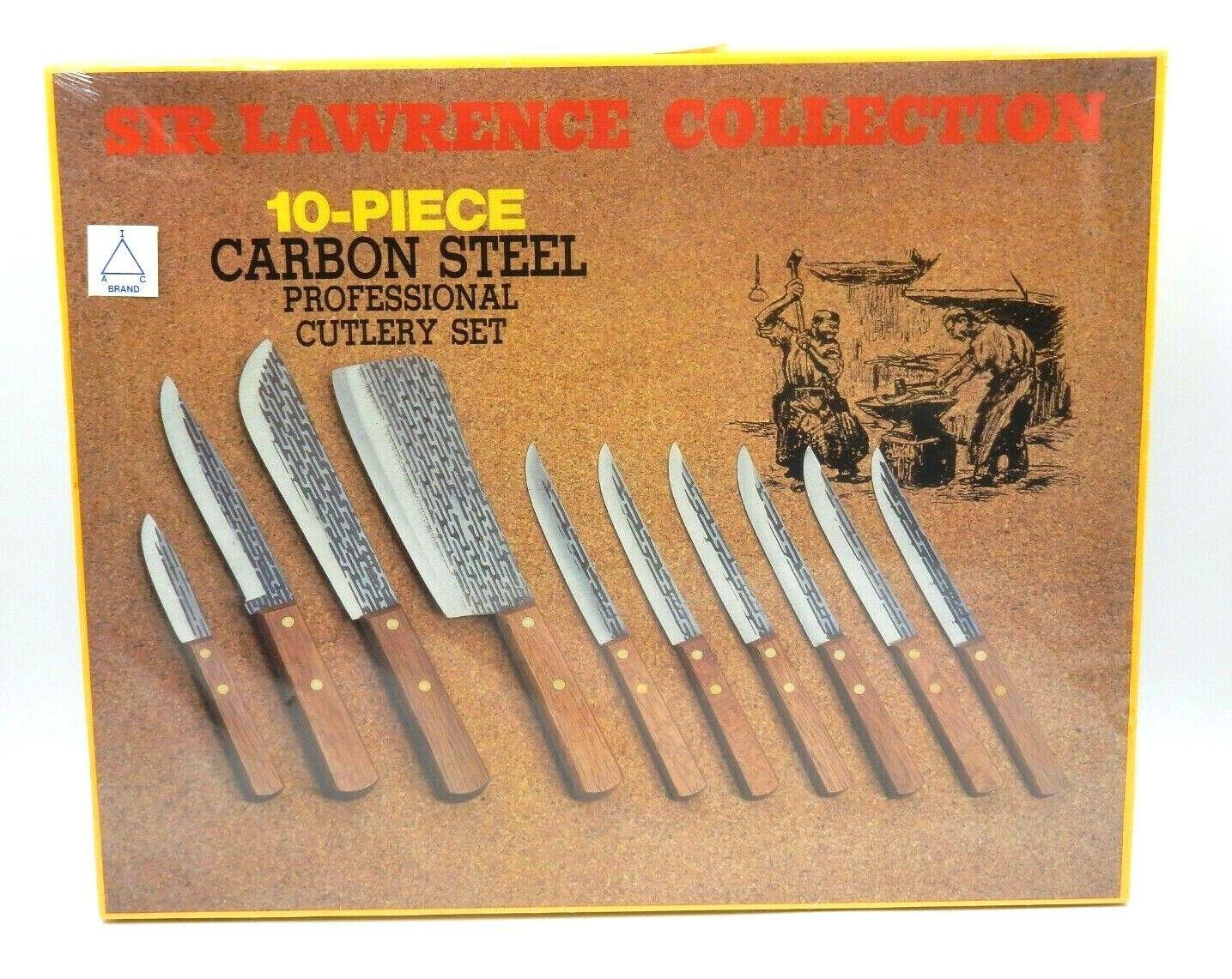 Nouveau-SIR LAWRENCE COLLECTION 10 pièces en acier au carbone Professionnel Set de couverts