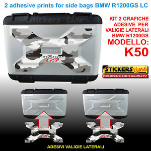 Kit 2 camouflage SIDE from BMW suitcases stickers R1200GS LC arctic bags K50 13 qqUxdrnCw