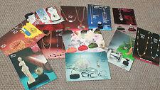 Lot de 10 cartes pub bijoux vintage Manufacture Pilote Berk-Plage Pas-de-Calais