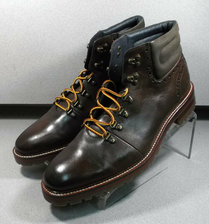 207676 MSBT50 Men's Boots Size 9 M Brown Leather 1850 Series Johnston & Murphy