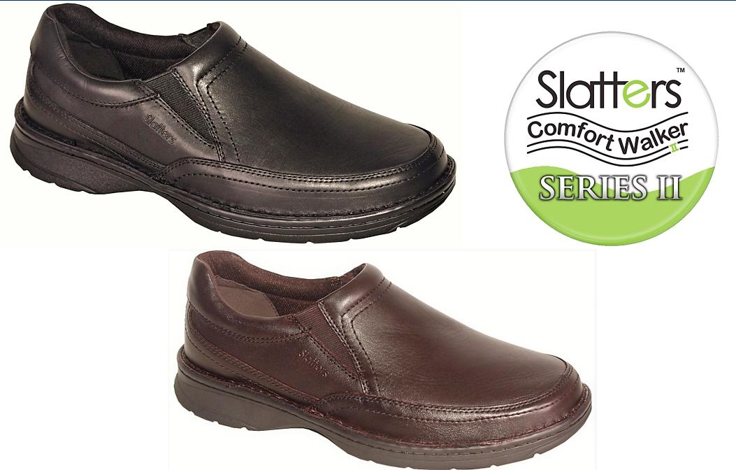 Comfort en marchant chaussures hommes cuir slip ons Slatters chaussures Accord series II