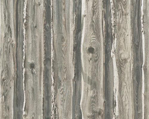 schickes Holz Dekor mit sagenhafter Optik 95837-2 1 Rolle edle Präge Tapete