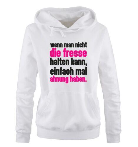 donna hoodie Mi hai interrotto shirts-se non si il muso può tenere..