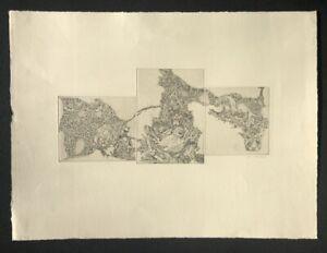 Ingrid webendoerfer, Uccello Cranio, acquaforte, 1967, firmato a mano