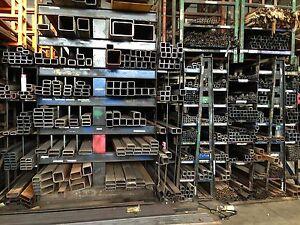 "Steel Rectangular Tube 4/"" x 8/"" x .250/"" x 72/"""