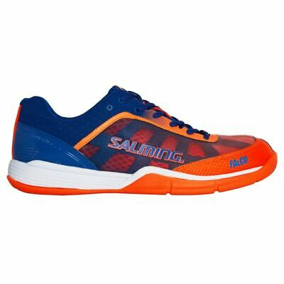 blue/orange Flame Aromatic Flavor Responsible Salming Mens Falco Indoor Shoes 2018
