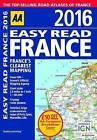 AA Easy Read Atlas France: 2016 by AA Publishing (Paperback, 2015)